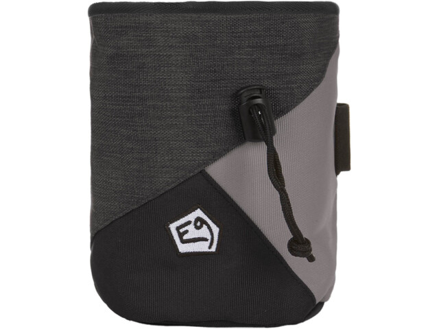 E9 Zucca Big Kalkpose, grå/sort